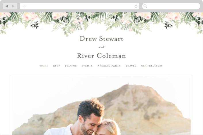 """""""beautiful posies"""" - Wedding Websites in Fresh by Phrosne Ras."""