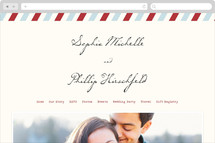 Airmail Wedding Websites