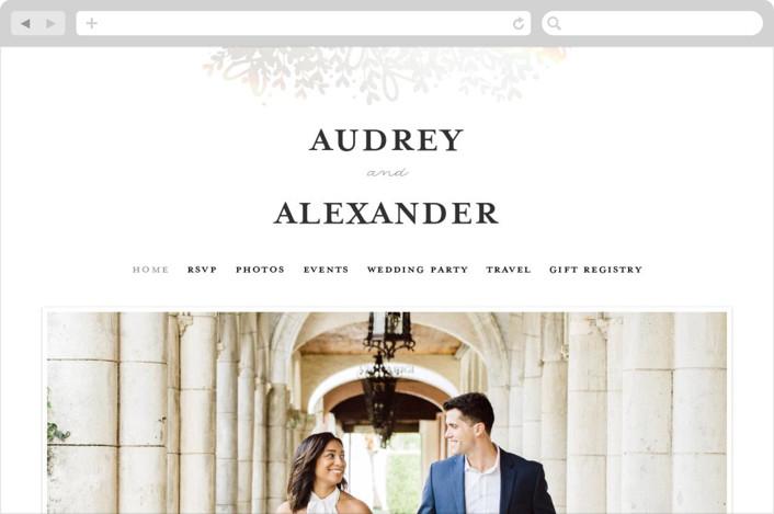 """Gem"" - Wedding Websites in Tuxedo by lena barakat."