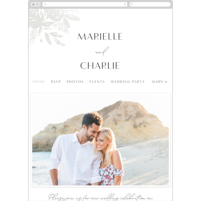 """Wedding veil"" - Bohemian Wedding Websites in Pearl by Chris Griffith."