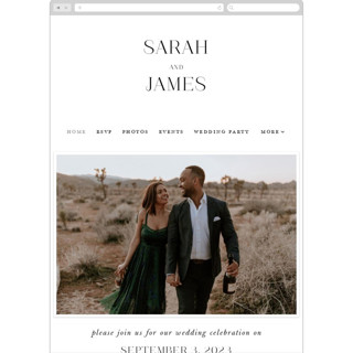 This is a white wedding website by Lauren Chism called Coupling printing on digital paper.