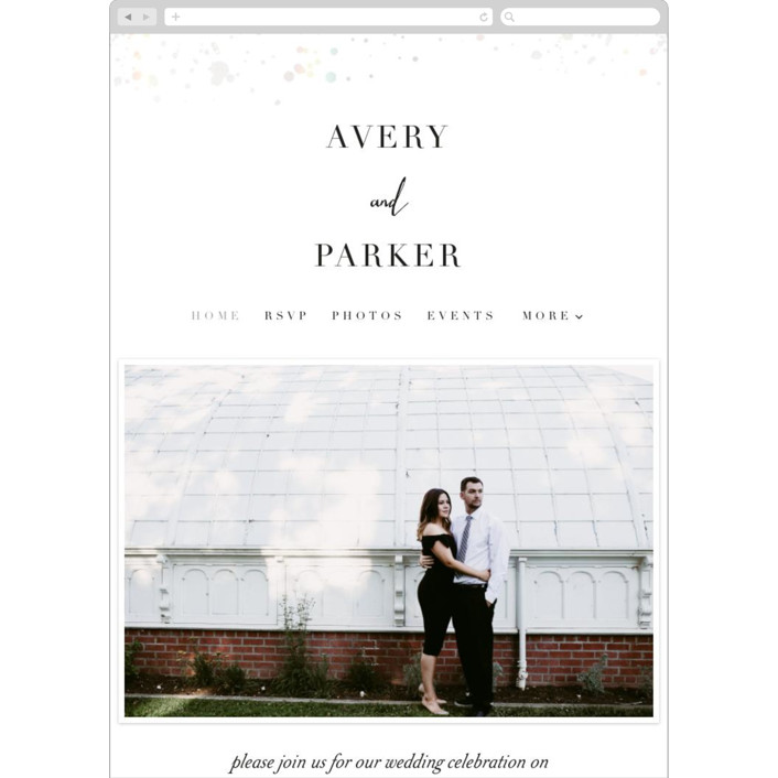 """glistening stardust"" - Bohemian Wedding Websites in Cloud by Angela Marzuki."