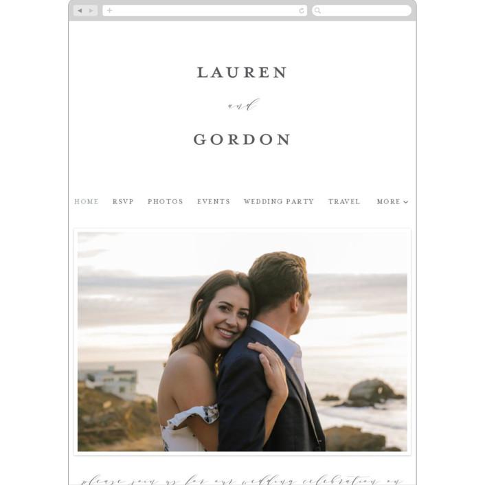 """The Field Of Love"" - Wedding Websites in Evergreen by Petra Kern."