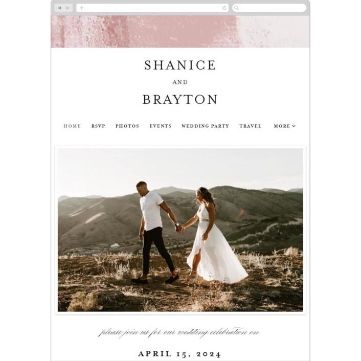 """Soft Overlay"" - Wedding Websites in Cloud by Mansi Verma."