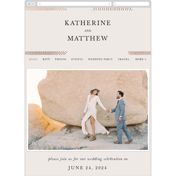 """""""Starburst"""" - Modern Wedding Websites in Champagne by letterfix."""