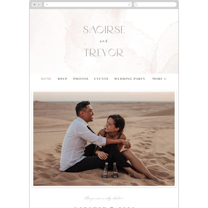 """""""kirsch"""" - Wedding Websites in Sand by chocomocacino."""