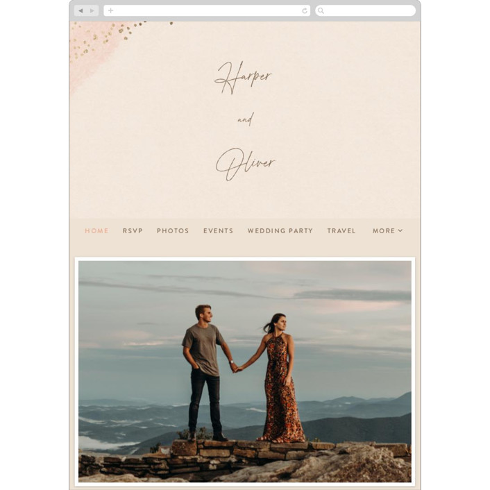 """empyrean"" - Wedding Websites in Sunset by Robin Ott."