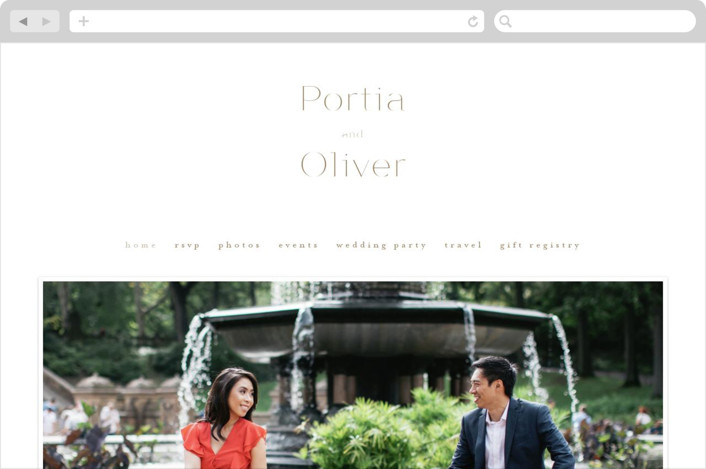 """Uncorked"" - Wedding Websites in Golden by Kristie Kern."