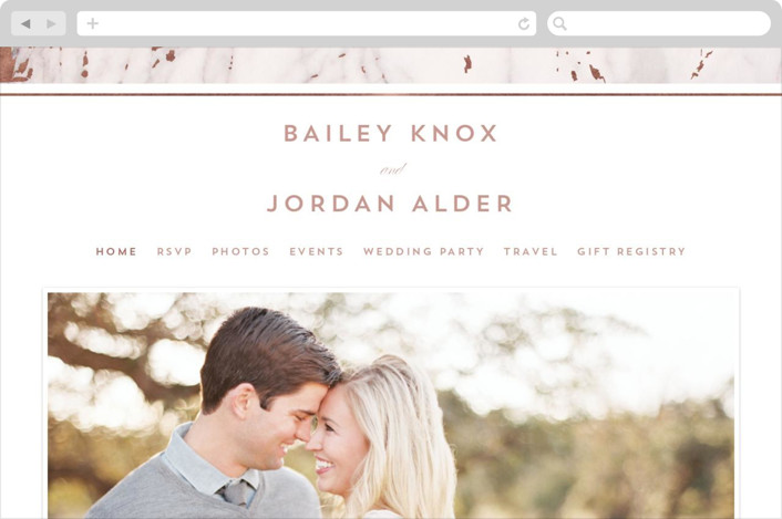 This is a white wedding website by AK Graphics called Marble Matrimony printing on digital paper.