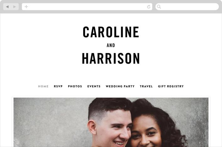 """""""Open Bar"""" - Wedding Websites in Tuxedo by Jennifer Lew."""