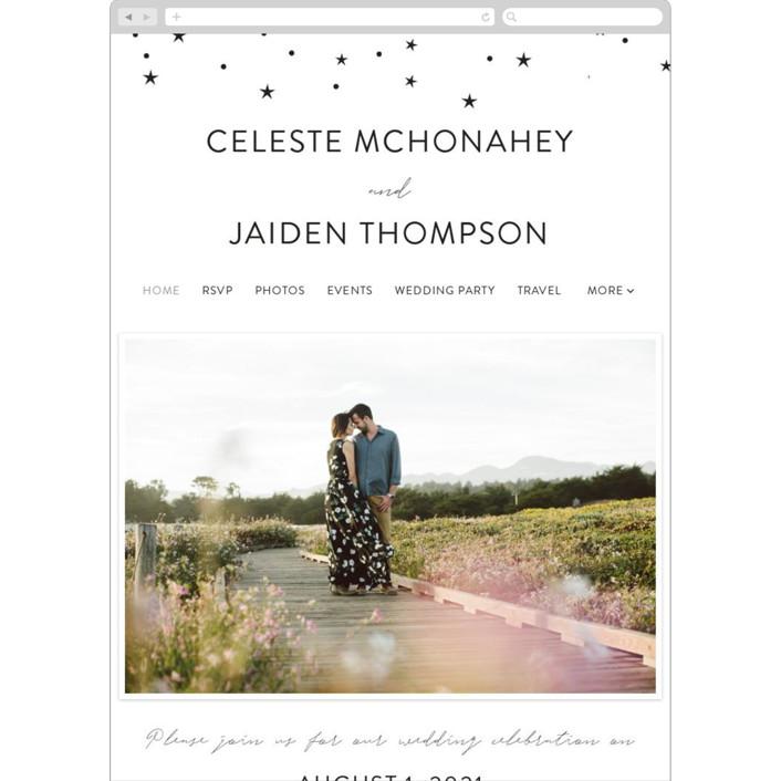 """star stream"" - Wedding Websites in Sugar by Cass Loh."