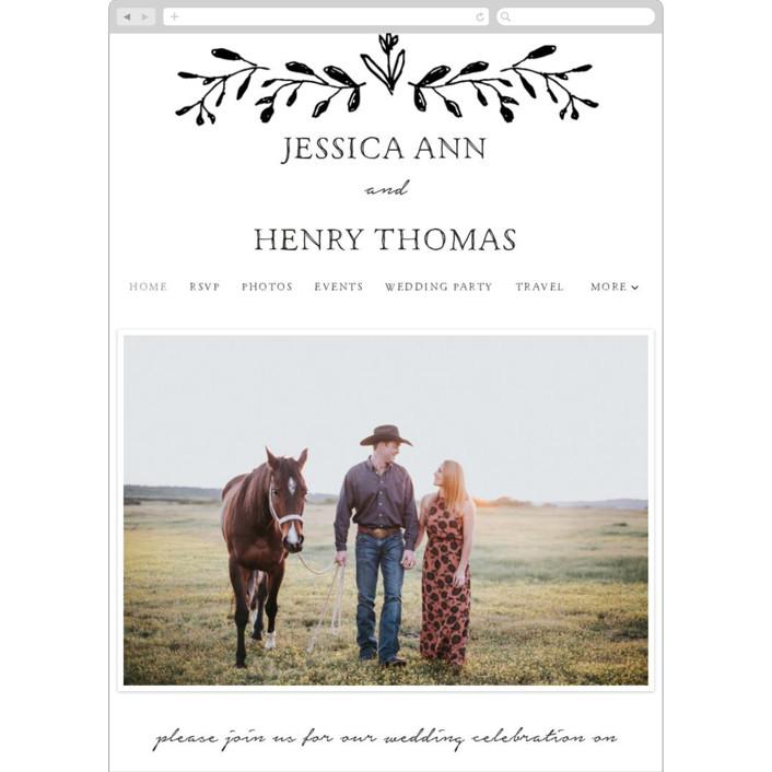 """Charleston"" - Wedding Websites in Tuxedo by Susan Brown."