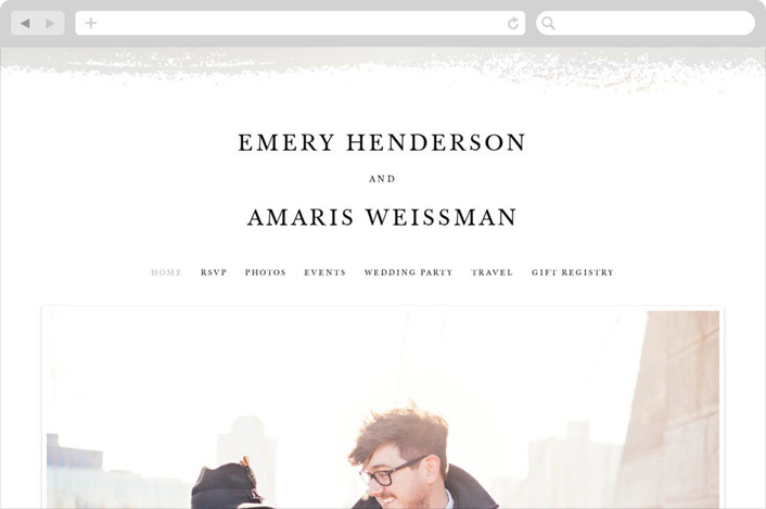 """""""Ensemble"""" - Wedding Websites in Stone by carly reed walker."""