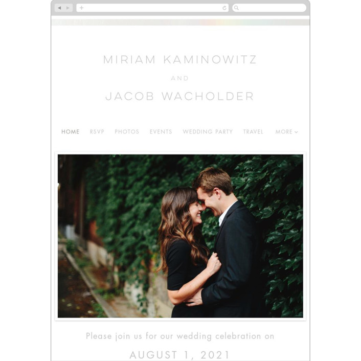 """Smash the Glass"" - Wedding Websites in Pearl by Laura Bolter."