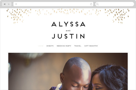 Let Love Shine Wedding Websites