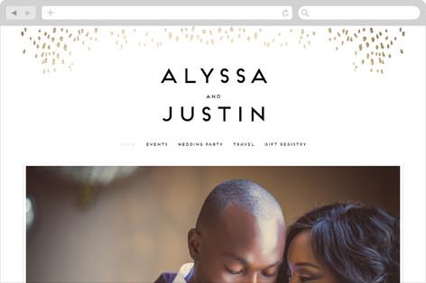 Let Love Shine Wedding Websites