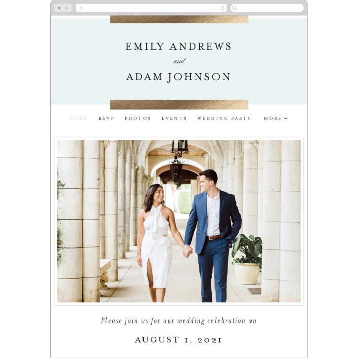 """Classic Bars"" - Wedding Websites in Sky by Kasia Labocki."