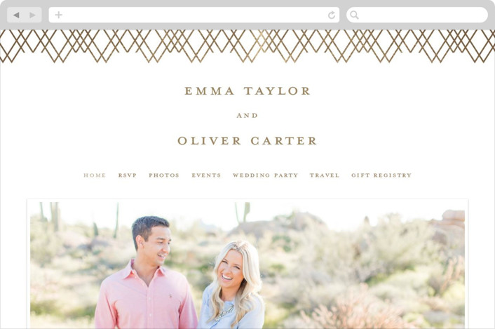 This is a brown wedding website by Creo Study called Picture Perfect printing on digital paper.