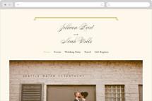 Modern Classic Wedding Websites