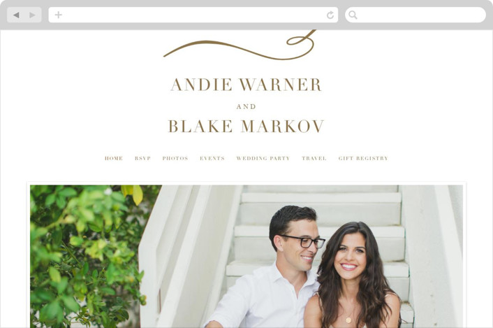 This is a white wedding website by Jennifer Postorino called divine printing on digital paper.