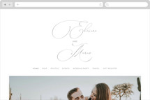 quiche Wedding Websites