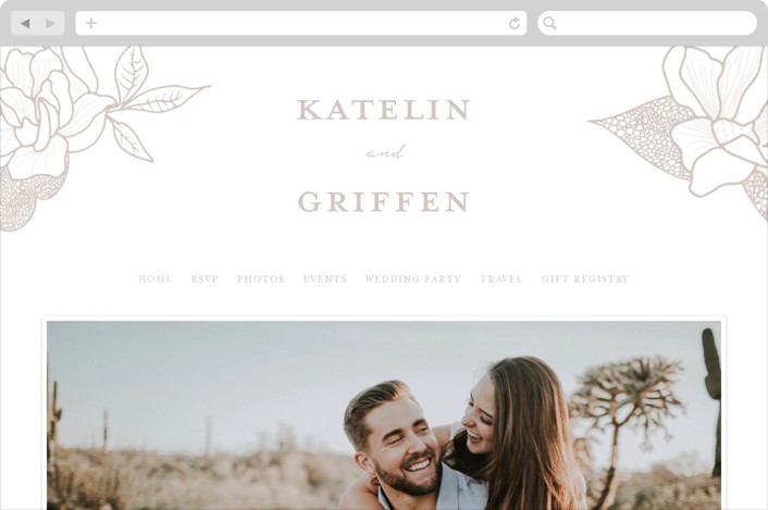 Botanical Garden Wedding Websites