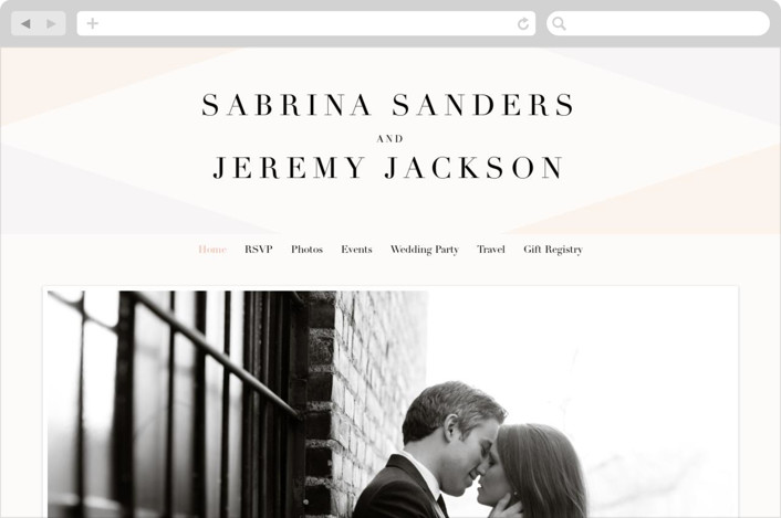 This is a beige wedding website by chocomocacino called Creme Brulee printing on digital paper.