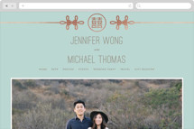 Double Knotted Happiness Wedding Websites