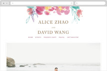 Chinese Traditional Painting Wedding Websites