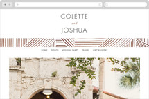 Rhythm + Hues Wedding Websites