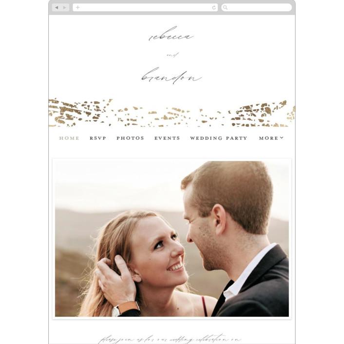 """Rustic Dream"" - Wedding Websites in Quartz by Beth Murphy."