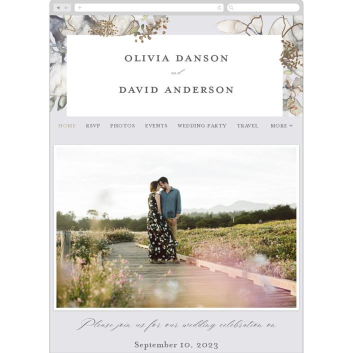 """""""Vitrage"""" - Wedding Websites in Granite by Petra Kern."""