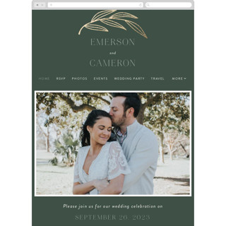 This is a green wedding website by Susan Asbill called complete printing on digital paper in standard.