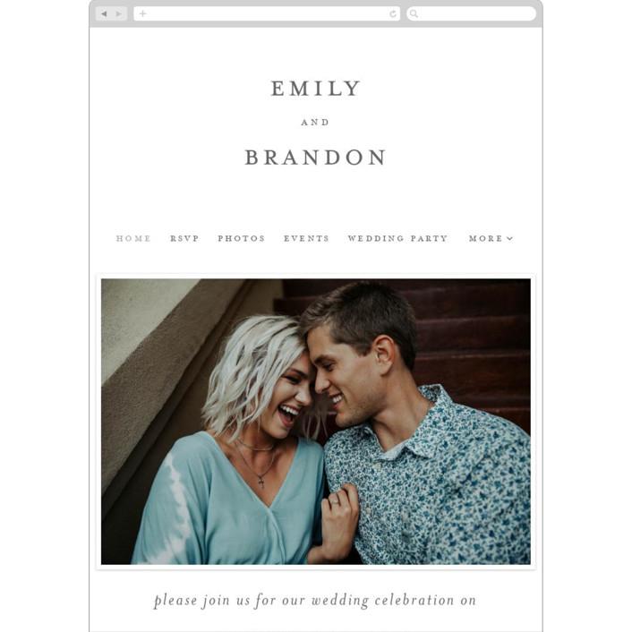 """shell"" - Modern Wedding Websites in Cloud by Liz Conley."
