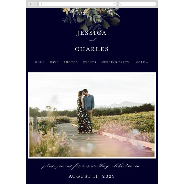 """wedding nosegay"" - Wedding Websites in Marine by Chris Griffith."