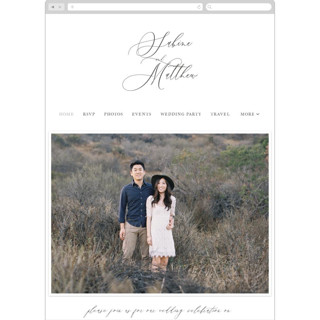 This is a black wedding website by Lori Wemple called Lovely Script printing on digital paper.