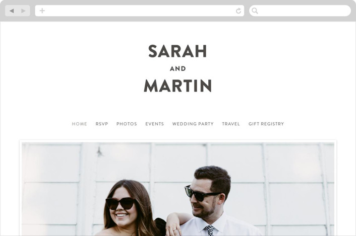 This is a black wedding website by Susan Brown called Love is Blind printing on digital paper.