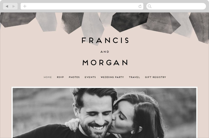"""love is strong"" - Wedding Websites in Onyx by Aspacia Kusulas."