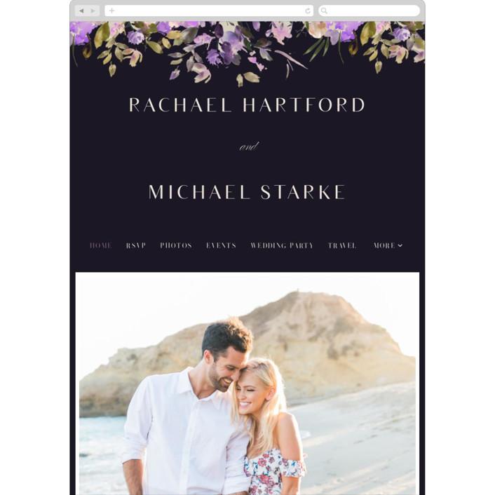 """goddess"" - Wedding Websites in Midnight by Lori Wemple."