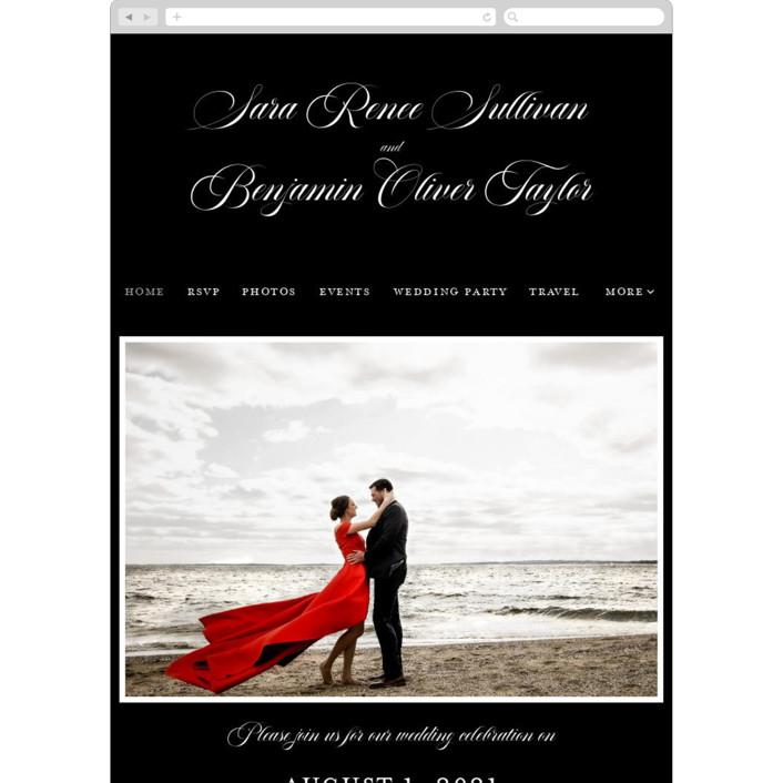 """""""Side by Side"""" - Bohemian Wedding Websites in Tuxedo by Carolyn MacLaren."""