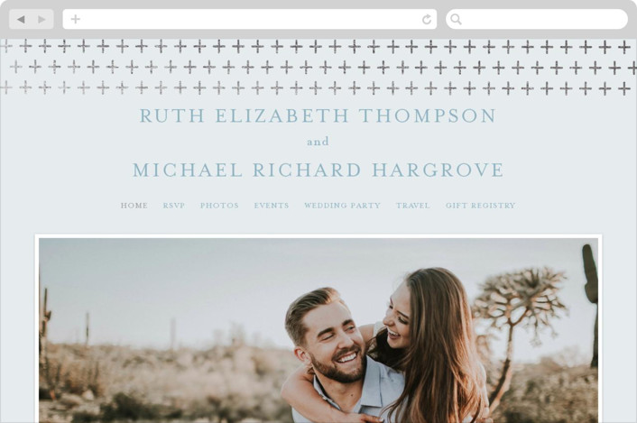 """""""Join Us"""" - Wedding Websites in Taupe by Heather Cairl."""
