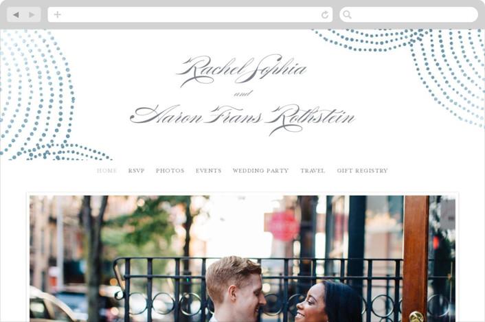 """Bespeckle"" - Wedding Websites in Sky by Benita Crandall."