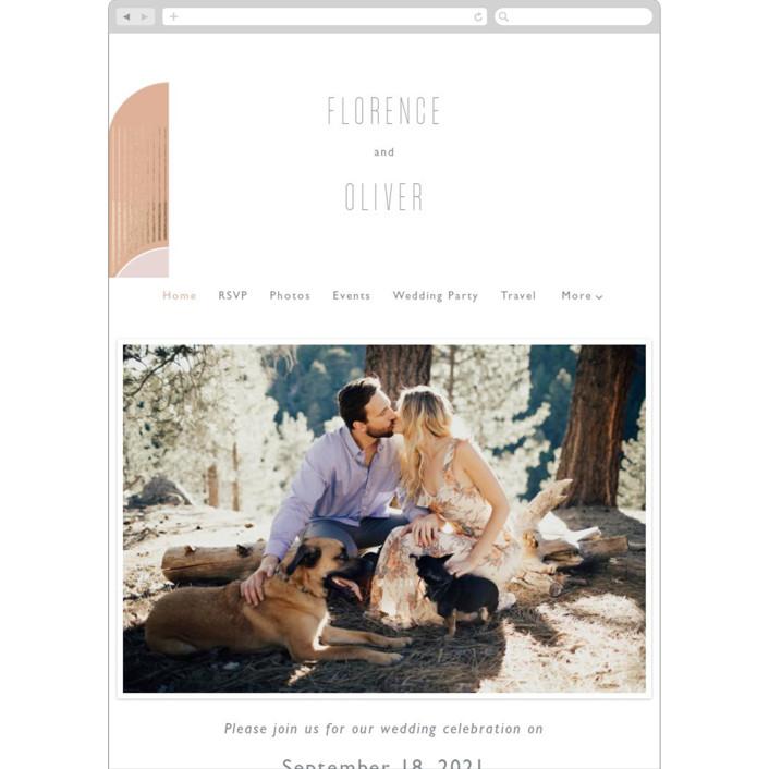 """""""desert dream"""" - Wedding Websites in Desert by Caitlin Considine."""