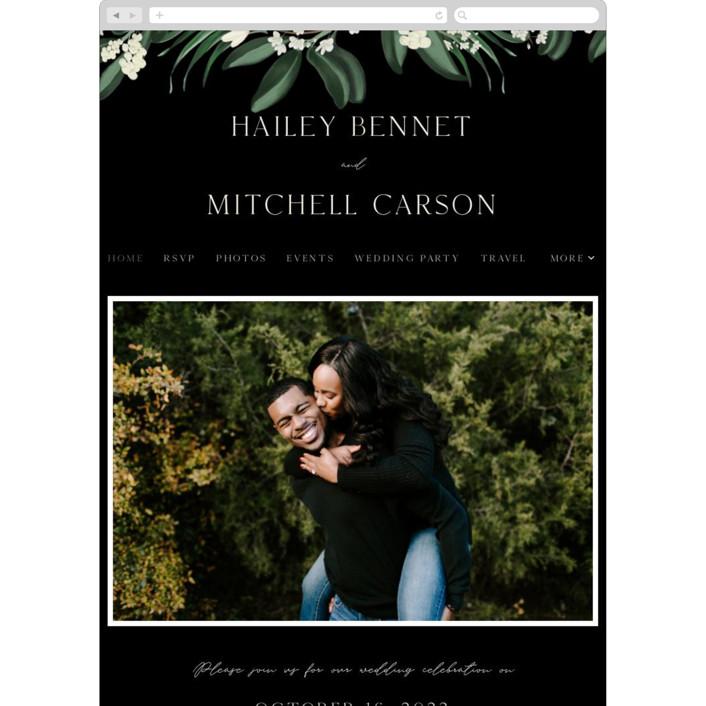 """""""Meander"""" - Wedding Websites in Obsidian by Kaydi Bishop."""