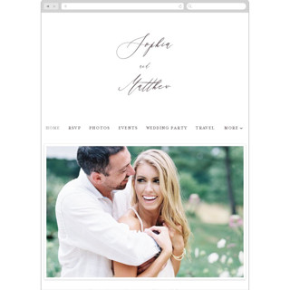 This is a brown wedding website by Benita Crandall called un mariage photographique printing on digital paper.