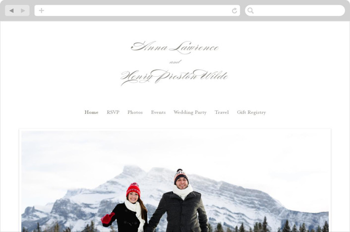 """Field"" - Wedding Websites in Umber by Toast & Laurel."