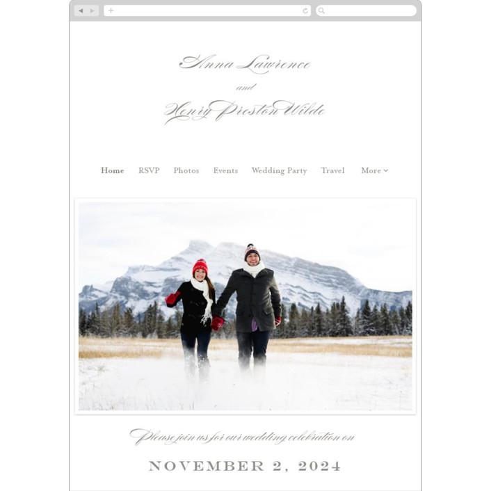 """""""Field"""" - Wedding Websites in Umber by Toast & Laurel."""