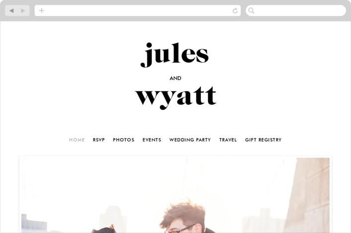 """""""Nolita"""" - Wedding Websites in Silk by annie clark."""