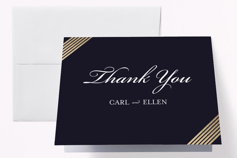 Anniversary Glam Anniversary Party Thank You Cards