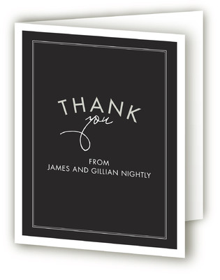 Cheers our Years Anniversary Party Thank You Cards